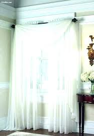 window scarves diffe ways to hang a scarf how pictures on concrete walls without holes diffe