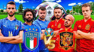 ⚽ ITALIA vs SPAGNA | COME FINIRÀ? EURO 2020 FOOTBALL CHALLENGE - YouTube