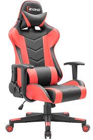 ergonomic computer chair amazon. Modren Amazon Devoko Ergonomic Gaming Chair Racing Style Adjustable Height HighBack PC Computer  With Headrest And Amazon N
