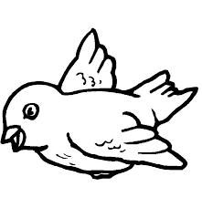 Vogel Kleurplaat Simpel Tropicalweather