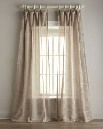 how to take care of linen curtains