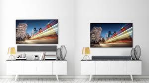 wall mounted vs shelf placed sound bar zvox sb400