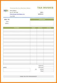 Child Care Receiptplate Careeipt Invoice Canada Word Free