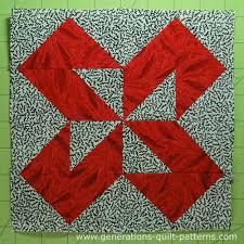 Colorado Beauty Quilt Block: Illustrated Step-by-Step Tutorial & The finished Colorado Beauty quilt block Adamdwight.com
