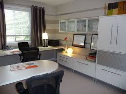 contemporary home office. Contemporary Home Office Ideas. Decorations : Space Ideas With White Modern Laminated
