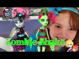 monster high zombie shake venus and roce 2pk doll review video dailymotion