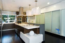 Contemporary L Shaped Modern Kitchen Island Modern Kitchen Pendant Lighting  Combine Ceiling Lamps White Rectangle ... Nice Look