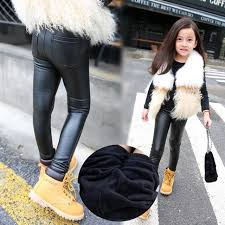 girls winter teenagers leggings children leather pant kids wear baby trousers toddler clothes baby pu hose pants