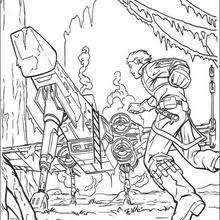 Small Picture Luke skywalker on dagobah coloring pages Hellokidscom