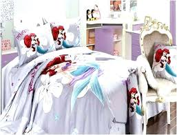pretty design little mermaid comforter set full bed sheets target sets size