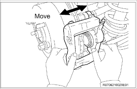 Diagram does anyone have the tsb or pdf for the rear caliper freezing
