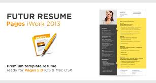 Iwork Resume Template Template For Apple Pages Ms Word Download Pc Outstanding Iwork 5