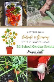 garden grants. Delighful Grants Garden Funding Opportunities And BC School Grants For
