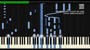 Light My Fire Piano Cover The Doors Light My Fire Synthesia Piano Cover