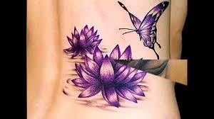 татуировка лотос