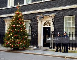 christmas displayed at 10 downing street pictures getty images