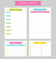 planner page template planner pages vector images over 8 700