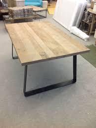 industrial diy furniture. Designer Brand Industrial Style Reclaimed Timber Top Dining Table (medium) Diy Furniture O