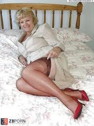 Mature grannies in heels