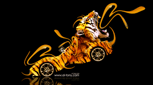 bmw gina light visions fantasy plastic tiger car