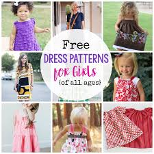 Dress Patterns For Toddlers Unique 48 Free Dress Patterns For Girls Of All Ages Crazy Little Projects