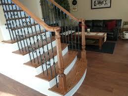 Custom Newel Post Custom Stair Iron Balusters For Atlanta Marietta Dunwoody