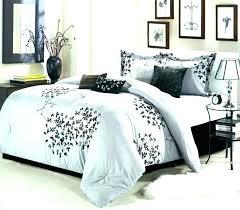 black and white king comforter set black and white king comforter sets grey and white king