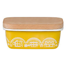 mini moderns enamelware butter dish  butter dish modern and house