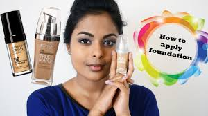 how to apply foundation tan indian skin um dark brown skin