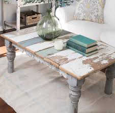 End Table Paint Ideas Distressed Painted Coffee Table Coffee Tables Pinterest
