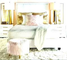 Pink White And Gold Bedroom White And Gold Room Decorations Black ...