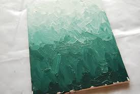 DIY Ombre Painting