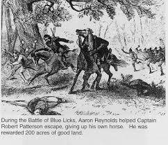 「Battle of Blue Licks」の画像検索結果