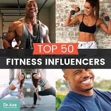 top 50 fitness influencers dr axe