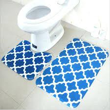 non skid bathroom rugs bath mat set 2 pieces polyester non slip bathroom carpet and rugs
