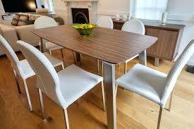 walnut dining room chairs modern contemporary walnut dining table with natural wooden top design complete with walnut dining room chairs