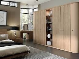 contemporary fitted bedroom furniture. Fitted Bedroom In Optima Cappucino \u0026 Granadillo Contemporary Furniture F