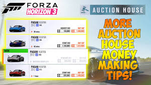 Forza Horizon 3 Auction House Money Making Method More Tips