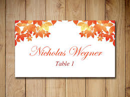Fall Place Cards Pin On Products