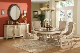 gorgeous round white dining table set kelly wearstler iris dining table solid white carrara marble top