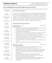Sample Administrative Assistant Resumes Administrative Assistant ...