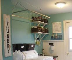 Laundry Room Accessories Decor Metal hanging racks laundry room accessories and decor 45