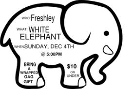 white elephant gift clip art.  Elephant White Elephant Game Invite Sample Clip Art In Gift T