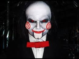 thought it would be more than appropriate to draw inspiration from saw and the jigsaw mask after all he was already asking do you want to play a game