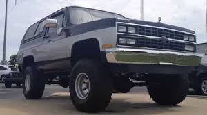 Ernie's LIFTED '89 Chevy Blazer by Gerald - YouTube