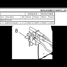 monessen 14d2263 natural gas ods pilot assembly for dlx series millivolt valves