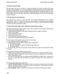 Project Proposal Apa Format Sample Masters Thesis Proposal