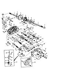 Craftsman 20 hp electric start 6 speed 46 garden tractor parts model 917273011 sears partsdirect