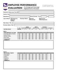 Employee Performance Report Template Work Pinterest Employee
