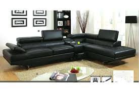 modern black leather couches. Modern Black Leather Sofa Sectional Stunning Inspiration  Throughout Contemporary Sofas Image 8 Modern Black Leather Couches